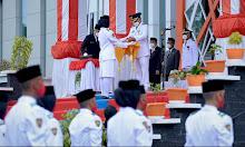 Bupati Ketapang Martin Rantan Pimpin Upacara Peringatan HUT ke-76 Kemerdekaan RI