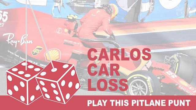 Play the Carlos Car Loss Pitlane Punt