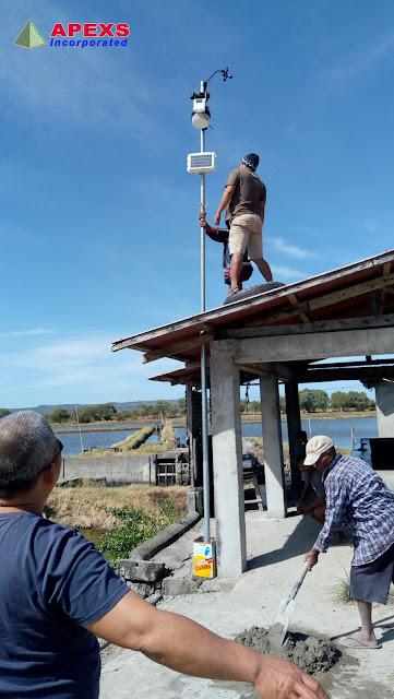 APEXS: 2019 Tamaraw Salt Producers Cooperative (TAMACO) - Davis Weather Station Installation and Training