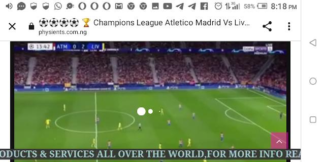 ⚽⚽⚽⚽ 🏆 Champions League Atletico Madrid Vs Liverpool Live HD ⚽⚽⚽⚽