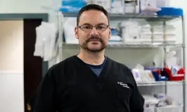 Dr. Nathaniel Berg. Photo: The Guardian