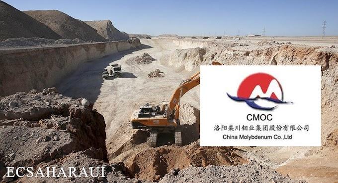 """العملاق الصيني لتجارة الفوسفاط """"موليبدينوم"""" يغادر الصحراء الغربية المحتلة نهائياً."""