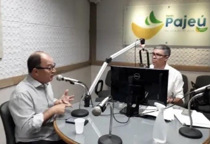 Magno Martins admite disputar vaga no Senado