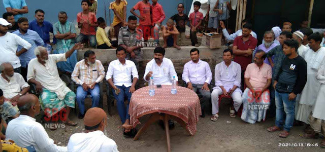 Rajmahal MP Vijay Hansda visited the area: orders for solution given to higher officials