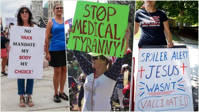 Perawat dan Guru di AS Memilih Hilang Pekerjaan Ketimbang Divaksin, Sebut RS Bermain Politik