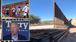 Biden chi 5 triệu đô la mỗi ngày để không xây bức tường biên giới