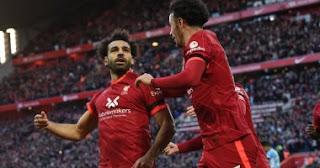 هداف الدوري الإنجليزي الممتاز: محمد صلاح يتقاسم الصدارة مع فاردي
