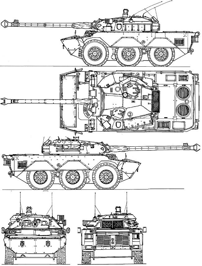Проекції AMX-10RС