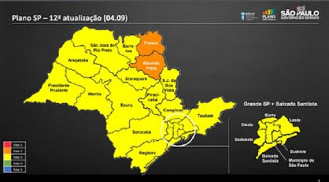 Vale do Ribeira muda para a Fase Amarela do Plano SP neste 04/09