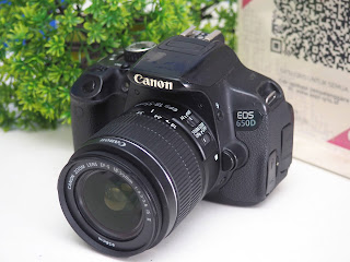 Jual Canon 650D Second