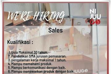 Loker Bandung Sales Ni Juu Go Bandung