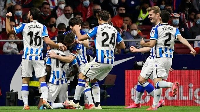Atl. Madrid 2 - 2 Real Sociedad: Sociedad stay top despite Suárez brace