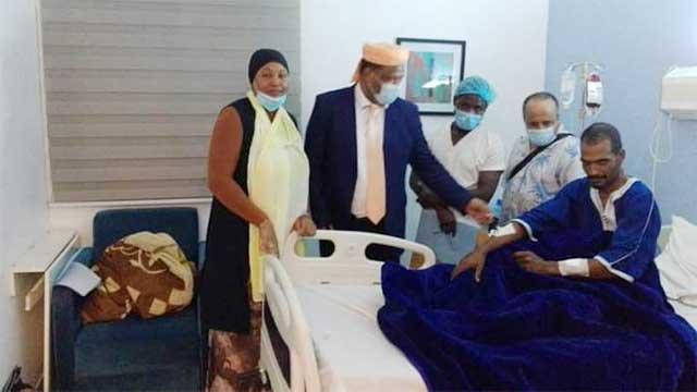 السائق المغربي واكريم ضحية هجوم مالي يعود إلى أرض الوطن