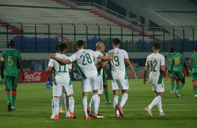ملخص أهداف مباراة الجزائر والنيجر (6-1) تصفيات كاس العالم