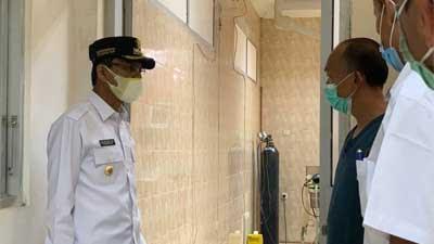 RSUD Achmad Darwis di Suliki Tambah Lagi Ruangan Isolasi