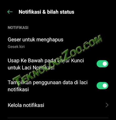 menghilangkan notifikasi mengganggu di android