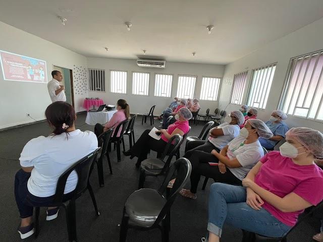 HEF promove palestra sobre a campanha Outubro Rosa