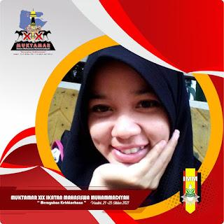 Twibbon atau Bingkai Foto Muktamar IMM (Ikatan Mahasiswa Muhammadiyah, 21-23 Oktober 2021