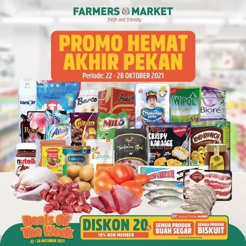 Katalog Promo Farmers Market Weekend 22 - 28 Oktober 2021