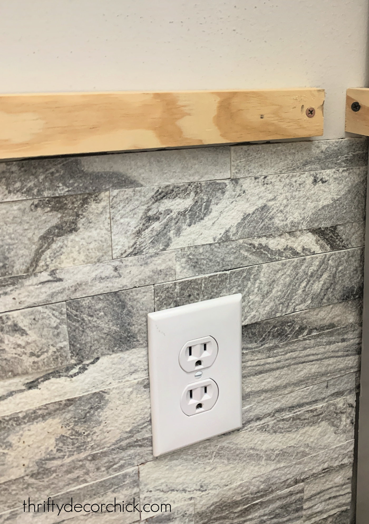 faux marble peel and stick tile