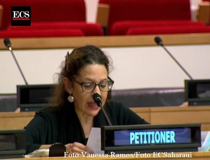 El Grupo de Nueva York de Apoyo al Sáhara Occidental denuncia ante la ONU las violaciones marroquíes en el Sáhara Occidental, y exige poner fin a la ocupación.