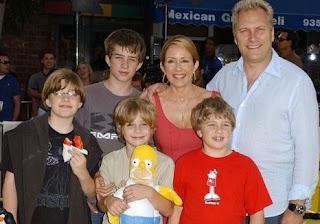 John Basil Hunt with his parents & siblings