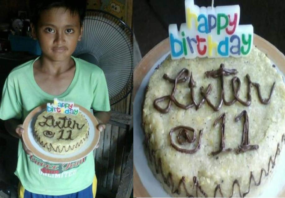 """Nanay na sinurpresa ang kanyang anak ng """"Nilupak na Cake"""" sa birthday nito, Umantig sa puso ng netizens"""