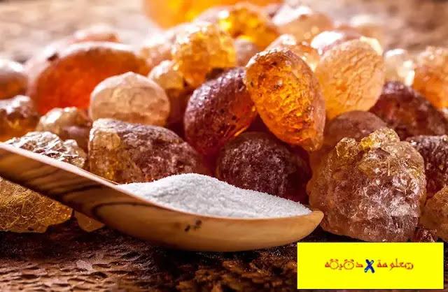 فوائد الصمغ العربي للوجه,ماهو الصمغ العربي,الصمغ العربي للكلي