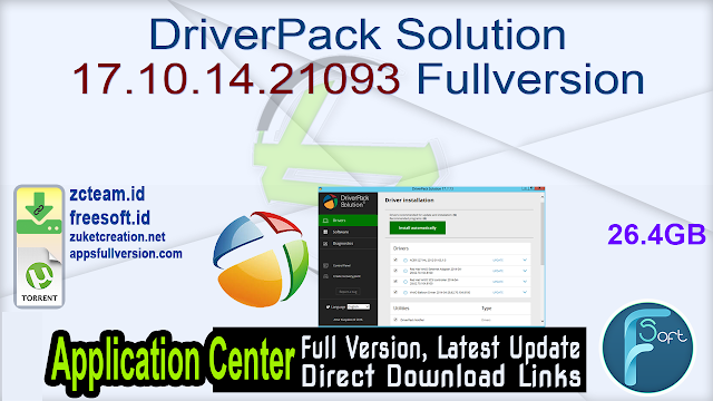 DriverPack Solution 17.10.14.21093 Fullversion
