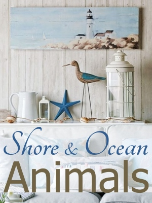 Animal Decor Shore and Ocean Animals Sculptures and Figurines