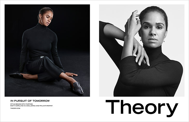 Discover Theory's FW21 In Pursuit of Tomorrow campaign lensed by Craig McDean