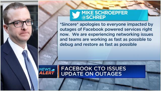 Facebook, WhatsApp, dan Instagram Down