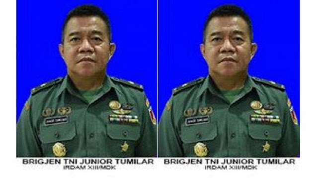 Sosok Brigjen TNI Junior Tumilaar yang Dicopot dari Jabatannya Setelah Surati Kapolri