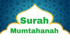 Surah Mumtahanah