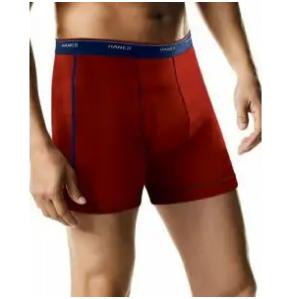 $6.97, Hanes Men's FreshIQ Sport Boxer Briefs 5-Pack