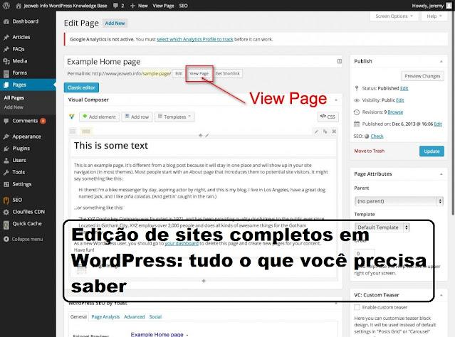 Edição de sites completos em WordPress: tudo o que você precisa saber