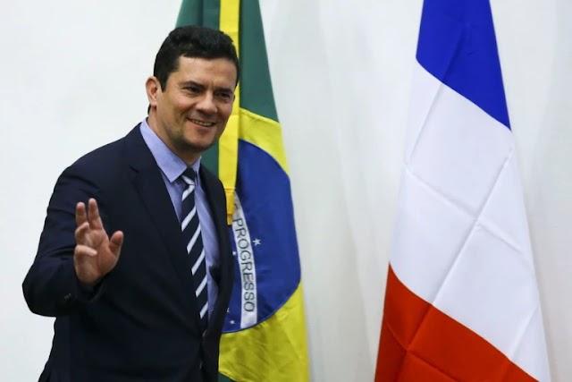 """No Brasil, Moro se 'anima' com pesquisa: """"Vou ser presidente"""""""