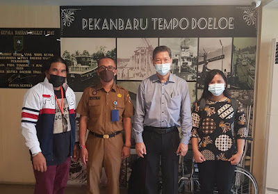 Kunjungi Pekanbaru, Rombongan Trisa Jaya Elektrindo dari Jakarta ke MPP