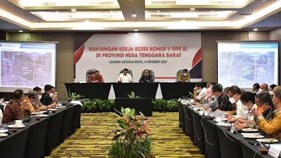 Komisi V DPR RI Apresiasi Kesiapan Infrastruktur Dukung WSBK dan MotoGP