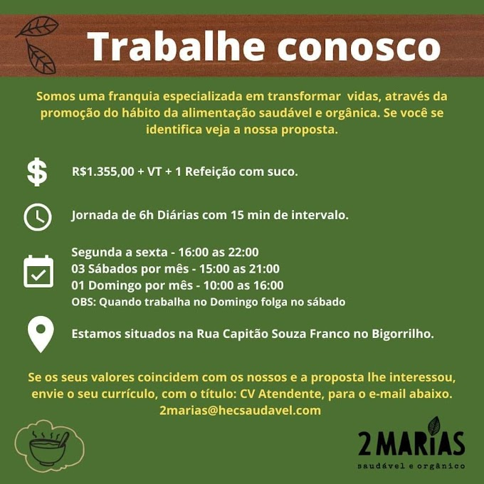 Atendente, Curitiba, PR