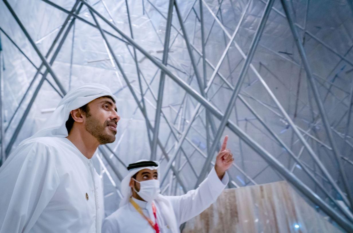 عبدالله بن زايد يشيد بمعرض إكسبو دبي Expo Dubai والمشاركات الخليجية الملهمة