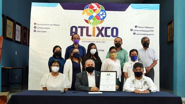 Atlixco, único municipio en el país que obtiene el Distintivo M