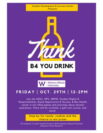 Think B4 You Drink