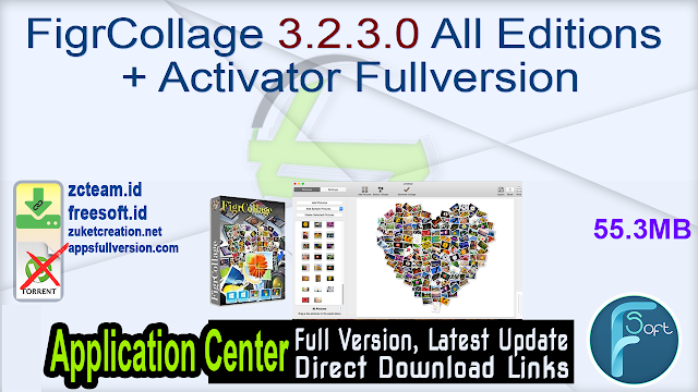 FigrCollage 3.2.3.0 All Editions + Activator Fullversion