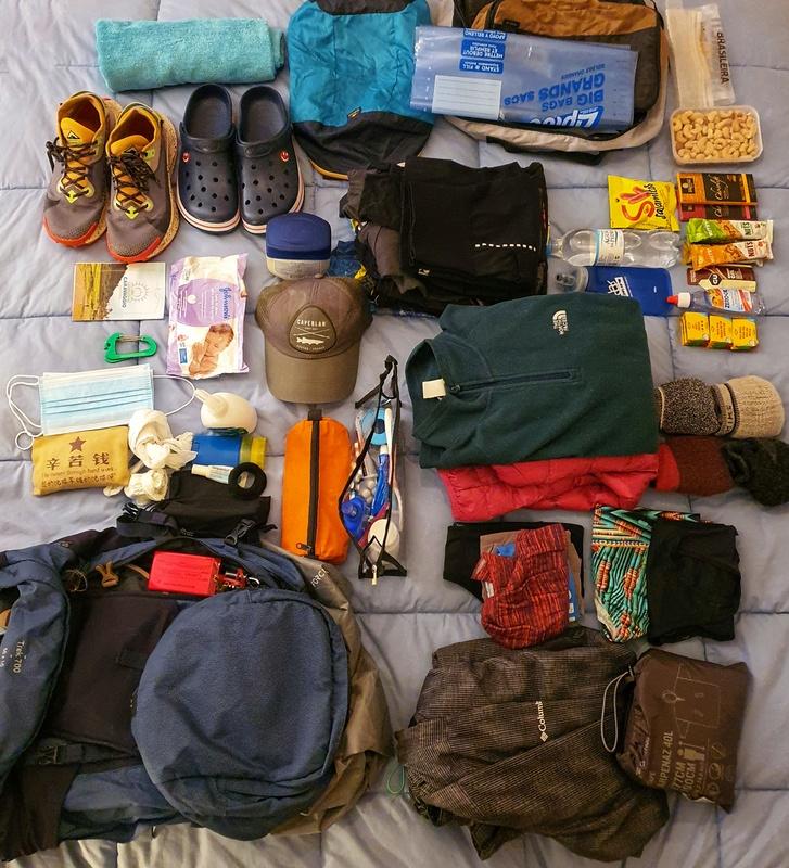 O que levar na mochila nos Caminhos de Caravaggio: checklist completo