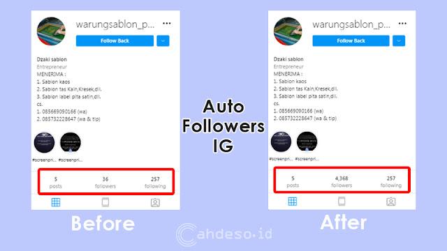 Cara Menambah 5000 Followers IG Gratis