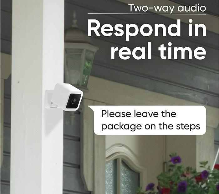 WYZE Cam v3 - Smart Indoor/Outdoor Security Camera
