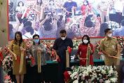 Didampingi Gubernur dan Jajaran, Menteri P3A RI Bintang Puspayoga Launching Tabungan dan Kredit Bohusami Perempuan Hebat