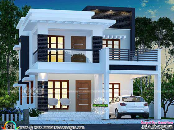 ₹25 lakhs cost estimated double storied home