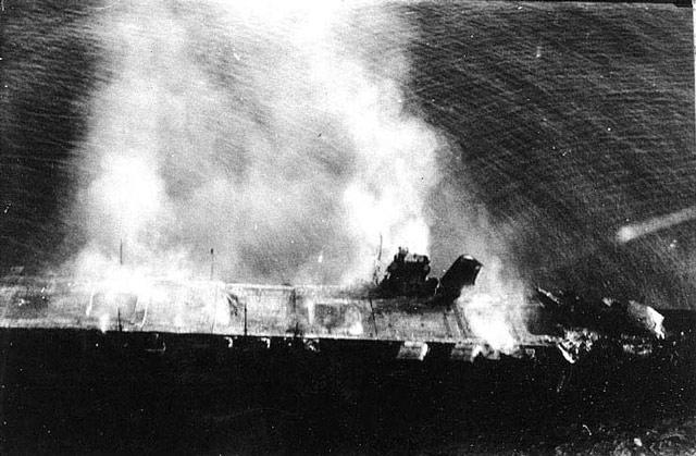 Hiryu sinking 5 June 1942 worldwartwo.filminspector.com